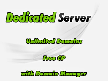 Low-cost dedicated hosting servers account